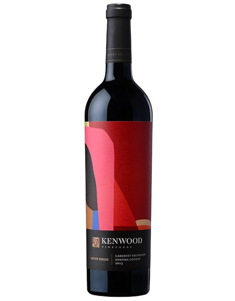 Red Wine 2013, Kenwood ARTIST SERIES, Cabernet Sauvignon, Mayacamas/Sonoma Mountain, Sonoma Valley, California, 14.5% Alc,