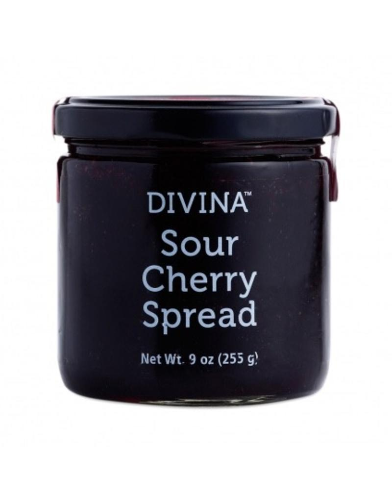 Specialty Foods Divina, Sour Cherry Spread, 9oz.