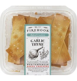 Specialty Foods Firehook, Garlic Thyme Crackers