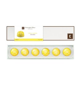 Chocolates Christopher Elbow, Lemon 6 Piece