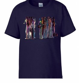 FIJM UNISEX ADULT T-SHIRT - CITIZENS OF THE WORLD