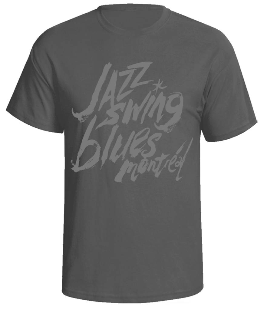 FIJM UNISEX ADULT T-SHIRT - JAZZ SWING BLUES