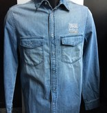 FIJM MEN'S JEANS SHIRT - LOGO