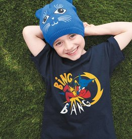 FIJM T-SHIRT POUR ENFANT UNISEX - CHAT BING BANG