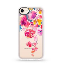 Casetify Casetify - Grip Case Pink Confetti Watercolor for iPhone 8/7/6S/6 120-0599