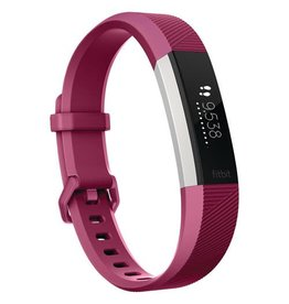 Fitbit Fitbit Alta HR Fitness Tracker with Heart Rate Monitor - Large - Fuchsia FB408SPMLCAN