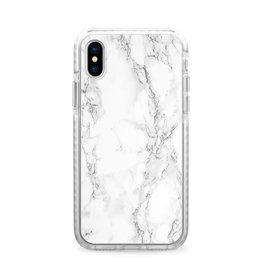 Casetify Casetify - Impact Case White Marble for iPhone X 120-0616