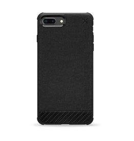 Casetify Casetify - X Essential Woven Case Matte Black for iPhone 8 Plus/ 7 Plus/ 6S Plus/ 6 Plus 120-0578