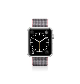 Casetify Casetify - Nylon Fabric Band Pink for Apple Watch 38mm 122-0013