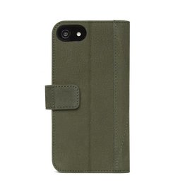 Decoded Decoded 2-in-1 Leather Wallet for iPhone 8/7/6s/6 - Olive Green DC-D7IPO8WC4ON