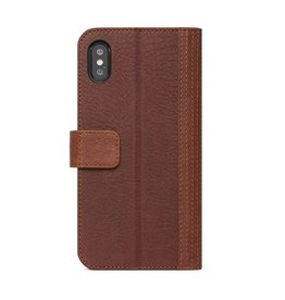Decoded Decoded 2-in-1 Leather Wallet for iPhone X - Cinnamon Brown DC-D8IPOXWC7CBN