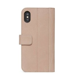 Decoded Decoded 2-in-1 Leather Wallet for iPhone X - Natural DC-D7IPOXWC5NL