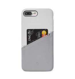 Decoded Decoded Leather Snap iPhone 7/8+ White/Gray DC-DA6IPO7PLSO1WEGY
