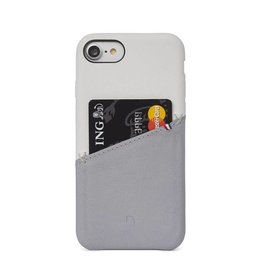 Decoded Decoded Leather Snap iPhone 7/8 White/Gray DC-DA6IPO7SO1WEGY
