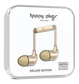 Happy Plugs Happy Plugs In-Ear Matte Gold Deluxe Edition Headphones - 14796VRP