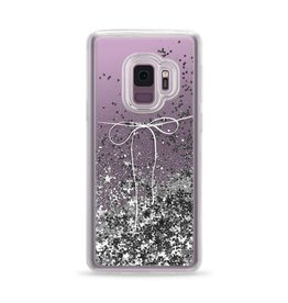 Casetify Casetify | Samsung Galaxy S9 Glitter Case Take A Bow (Silver) | 120-0935