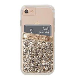 Case-Mate Universal Case-mate Champagne Glitter ID Pocket
