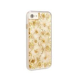 Case-Mate iPhone 8/7/6S/6 Case-mate Antique White Karat Petals case 15-02227