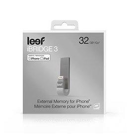 Leef Leef iBridge3 Silver 32GB Mobile Memory - IOS 15-01896