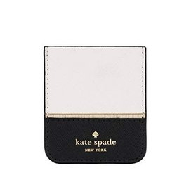 KSNY (Kate Spade New York) Kate Spade New York | Sticker Pocket Cream/Black/Gold | KSIPH-091-CBG-FR