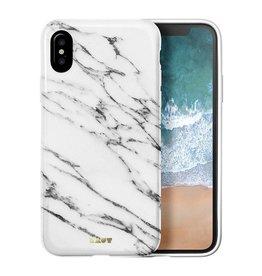 Laut LAUT |iPhone X HUEX ELEMENTS | Marble White | LAUT_IP8_HXE_MW