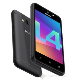 BLU Blu Dash L4 LTE Black Phone