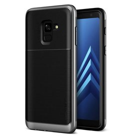 VRS Design Vrs Design | Samsung Galaxy A8 (2018) High Pro Shield Case Dark Silver | 120-0318
