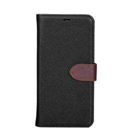 Blu Element Blu Element | Huawei P20 | 2 in 1 Folio Case Black/Brown - 120-0469