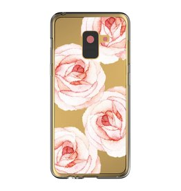 Blu Element Blu Element | Samsung Galaxy A8 (2018) | Mist Fashion Case Rosie Roses - 120-0349