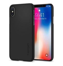 Spigen Spigen Thin Fit Case for iPhone X - Matte Black SGP057CS22108