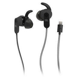 JBL JBL   Reflect Aware Noise Cancelling In-Ear Wired Headphones Lightning Connector  Black   50036327763