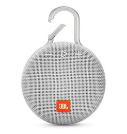 JBL JBL | Clip 3 Bluetooth Waterproof Speaker | Steel White| JBLCLIP3WHT