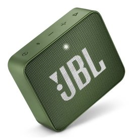 JBL JBL   GO 2 Portable Waterproof Bluetooth Speaker   Moss Green   JBLGO2GRN