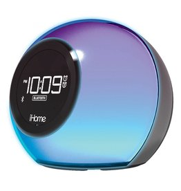 iHome iHome iBT29BC BT Dual Alarm Black 115-1448