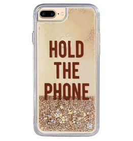"Caseco Caseco| iPhone 8/7/6/6s+ Liquid Glitter Case ""Hold the Phone"" 