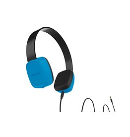 Kenu KENU GROOVIES KID'S HEADPHONES, BLUE KNGV1BLNA