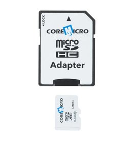 Core Micro COREMICRO 128 GB MICROSD CARD WITH SD ADAPTER