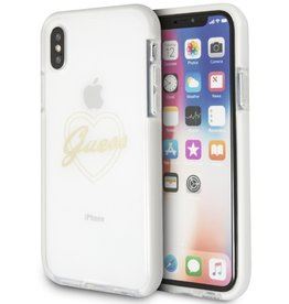 Guess Guess | IPhone X Transparent Thermoplastic Polyurethane Phone Case (Shockproof Collection) | GUHCPXSHPI