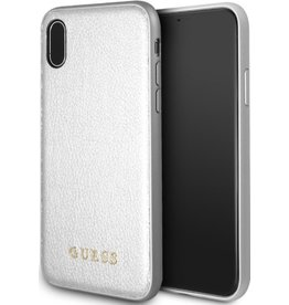 Guess Guess | IPhone X Gold Hard Phone Case (Iridescent Collection) | GUHCPXIGLSI