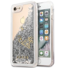 Guess Guess | IPhone 8/7/6/6s Silver Glitter Gold Hard Phone Case (Glitter Collection) | GUHCP7GLUFLSI