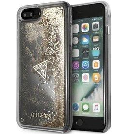 Guess Guess | IPhone 8/7/6/6s+ Glitter Gold Hard Phone Case (Glitter Collection) | GUHCI8LGLUFLGO