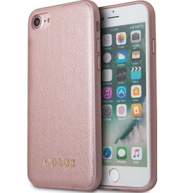 Guess Guess | IPhone 8/7/6/6s Rose Hard Phone Case (Iridescent Collection) | GUHCP7IGLRG