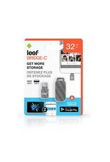Leef Leef Bridge Type-C Black 32GB Mobile Memory 15-01899