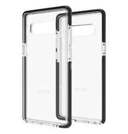 Gear4 Gear4   Samsung Galaxy Note 8 D3O Clear/ Black Piccadilly case   15-02026