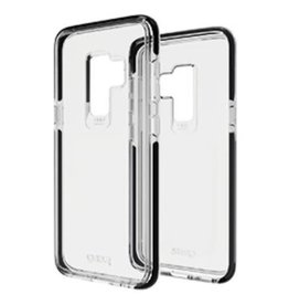 Gear4 Gear4 | Samsung Galaxy S9 D3O Clear/Black Piccadilly case | 15-02659