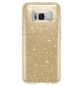 Speck Speck | Samsung Galaxy S8 Plus Presidio Clear with Gold Glitter | SPK-90262-5636