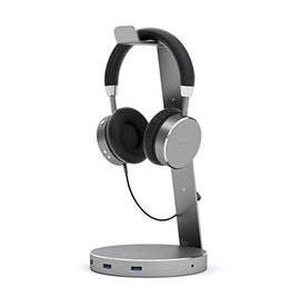 Satechi Satechi | Headphone Stand w/ USB 3.0 ports - Space Gray | ST-AHSHU3M