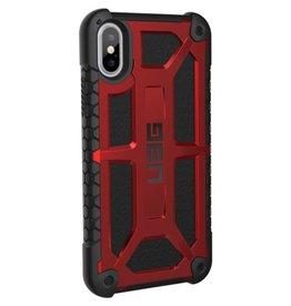 UAG UAG   iPhone X Red/Black (Crimson) Monarch Series case   15-02090