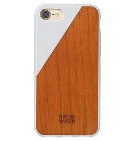 Native Union Native Union | iPhone 8/7/6/6s Clic Wooden White / Cherry Wood | CLIC-WHT-WD-7