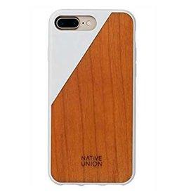 Native Union Native Union | iPhone 8/7/6/6s+ Clic Wooden White/Cherry Wood | CLIC-WHT-WD-7P